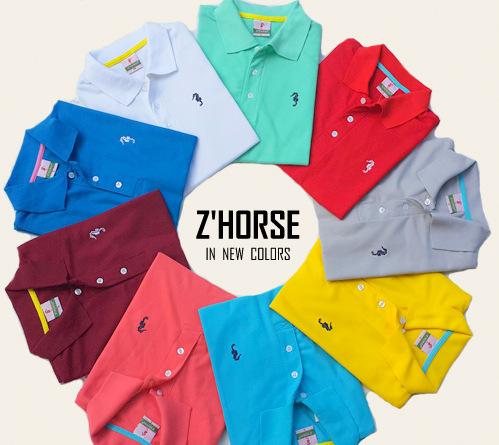 ร้านขายส่งเสื้อโปโล เสื้อยืด เสื้อเชิ้ต ยี่ห้อ zhorse ม้าน้ำ POLO